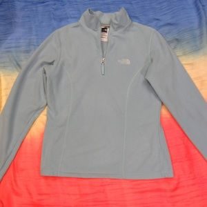 The North Face TKA100 Cool Blue XS Pullover